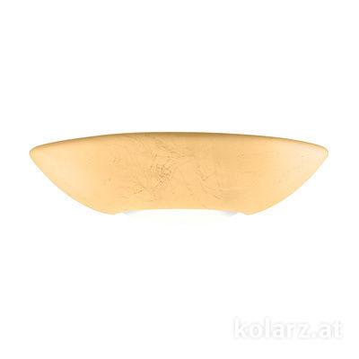 0011.61.Au Gold Leaf, Width 40cm, Height 10cm, 1 light, R7s 78mm