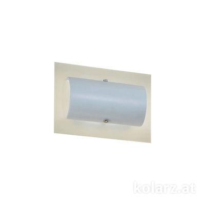 0012.60 White, Length 27cm, Width 27cm, Max. height 14cm, 1 light, R7s 78mm
