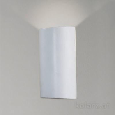 0012.64 White, Length 23cm, Width 14cm, Max. height 10cm, 1 light, G9