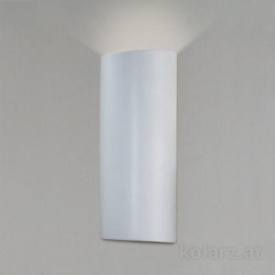 0012.65 White, Length 33cm, Width 14cm, 1 light, G9