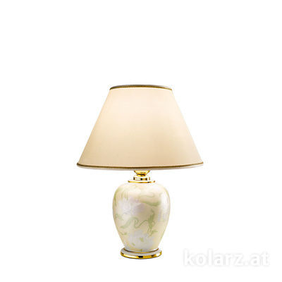 0014.73S.4 24 Carat Gold, Ø25cm, Height 34cm, 1 light, E27