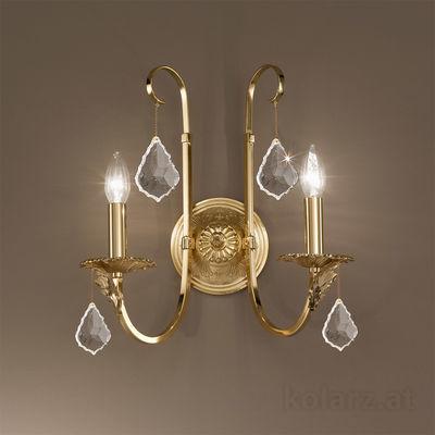 0057.62.3.KpT 24 Carat Gold, Width 38cm, Height 38cm, 2 lights, E14