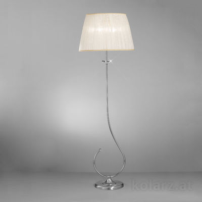0112.41.5.KpT Ø56cm, Height 174cm, Max. height 174cm, 2 lights, E27