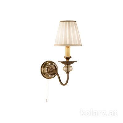 0195.61.4 Antique Brass, Width 22cm, Max. height 14cm, 1 light, E14
