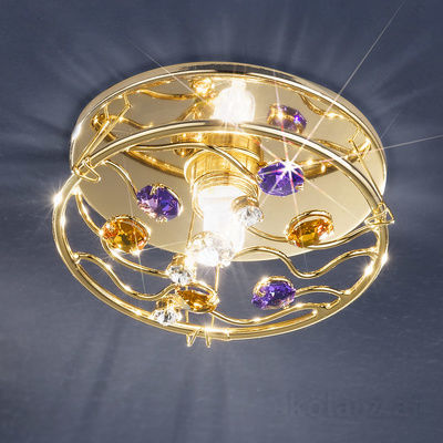 0215.11E.3.OSsTAV 24 Carat Gold, Ø11cm, Height 6cm, 1 light, GU10