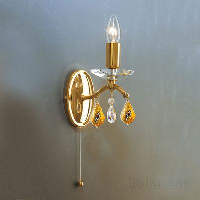 0234.61.3.Ki.KpT 24 Carat Gold, Width 12cm, Height 16cm, 1 light, E14