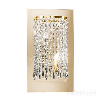 0239.62.3.SpT 24 Karat Gold, Breite 22cm, Max. Höhe 40cm, 2-flammig, G9