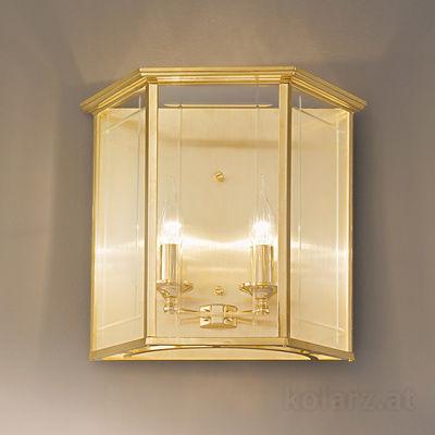 0251.62E.3 24 Karat Gold, Breite 38cm, Max. Höhe 34cm, 2-flammig, E14