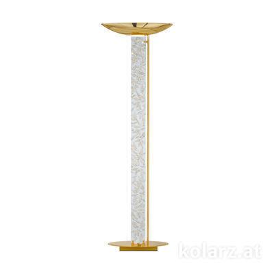 0252.41.3.Li.WA 24 Carat Gold, Length 60cm, Width 26cm, Height 185cm, Max. height 185cm, 2 lights, R7s 118mm
