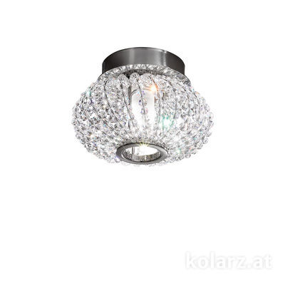 0256.11.5.KpT Chrome, Ø17cm, Height 15cm, 1 light, G9
