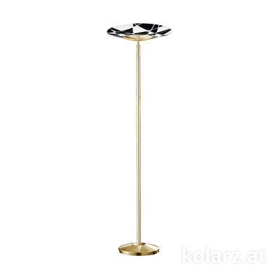 0296.41.3.WBk Золото 24 карата, Ø54cm, Макс. высота 180cm, 1 лампа, R7s 118mm