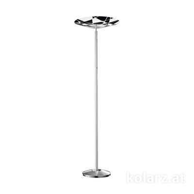 0296.41.5.WBk Chrome, Black, Ø54cm, Max. height 180cm, 1 light, R7s 118mm