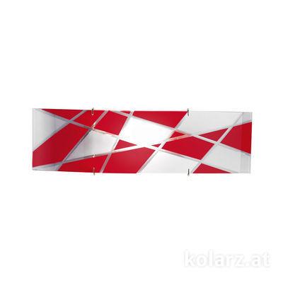 0296.61S.5.41.WR Chrome, Red, Length 11cm, Width 41cm, 1 light, R7s 78mm