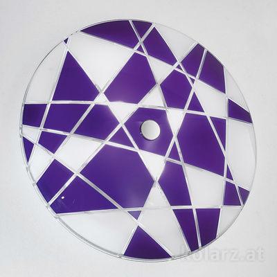 0296.U15.5.WV Chrome, Violet, Ø62cm, Max. height 8cm, 5 lights, E27