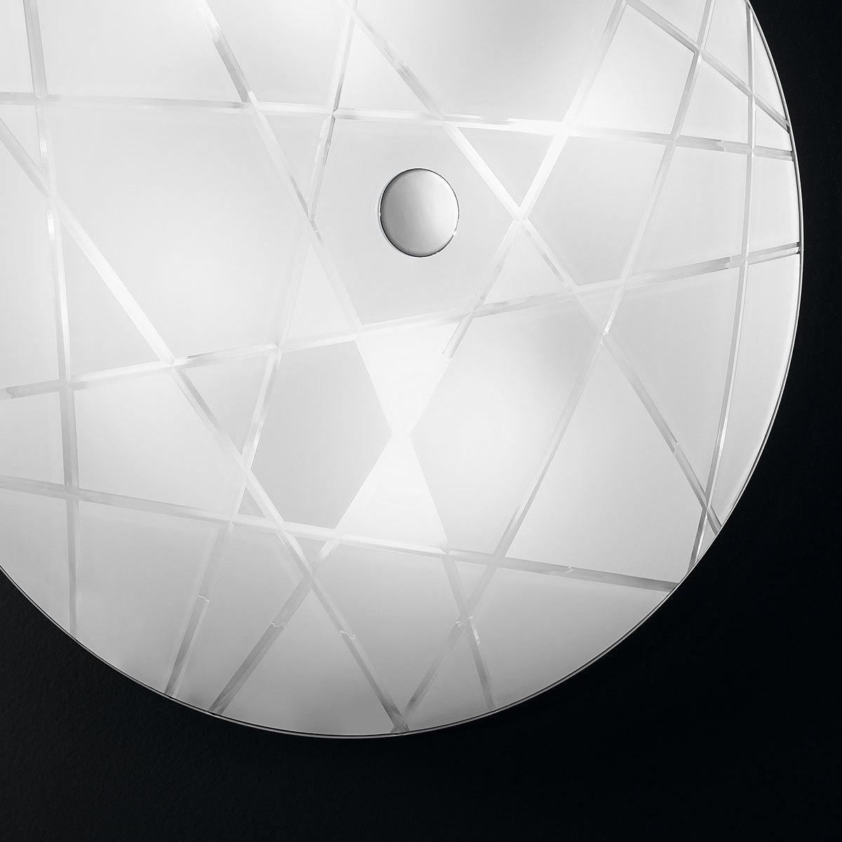 ceiling light centro mikado mikado 62 chrome white