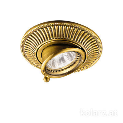 0297.10B.15 French Gold, Ø12cm, Min. height 7cm, Max. height 9cm, 1 light, GU10
