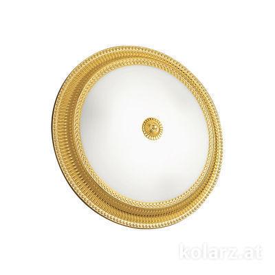 0297.13.3 24 Carat Gold, White, Ø40cm, Height 11cm, 3 lights, E27