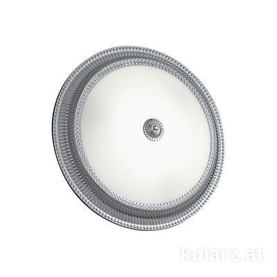 0297.13.5 Chrome, White, Ø40cm, Height 11cm, 3 lights, E27