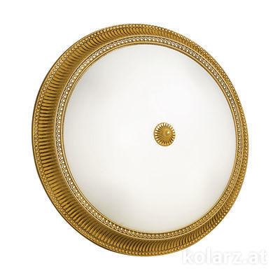 0297.14.15 French Gold, White, Ø50cm, Height 11cm, 4 lights, E27