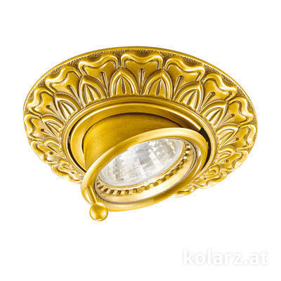 0298.10B.3 24 Carat Gold, Ø12cm, Min. height 7cm, Max. height 9cm, 1 light, GU10
