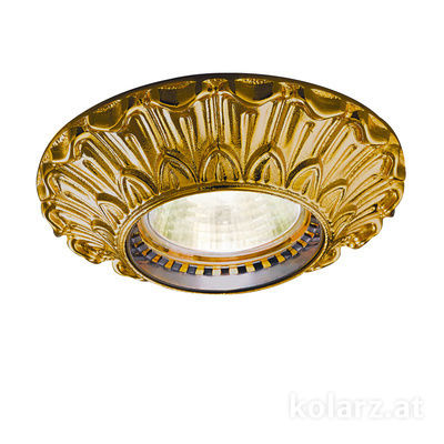 0298.10R.15 French Gold, Ø10cm, Height 5cm, 1 light, GU10