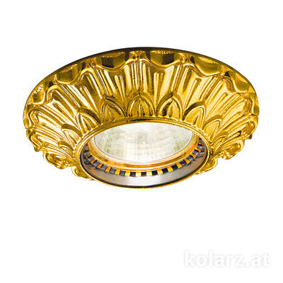 0298.10R.3 24 Carat Gold, Ø10cm, Height 5cm, 1 light, GU10