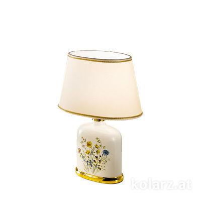 0307.71.4 24 Carat Gold, Length 20cm, Width 14cm, Height 28cm, 1 light, E27