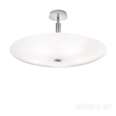 0314.55L.5/ki50 Chrome, Ø62cm, Height 30cm, 5 lights, E14