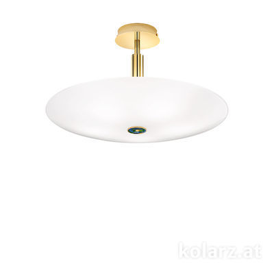 0314.55M.3/aq70 24 Carat Gold, Ø54cm, Height 30cm, 5 lights, E14