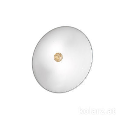 0314.U12.3/aq21 24 Carat Gold, White, Ø32cm, Height 8cm, 2 lights, E14