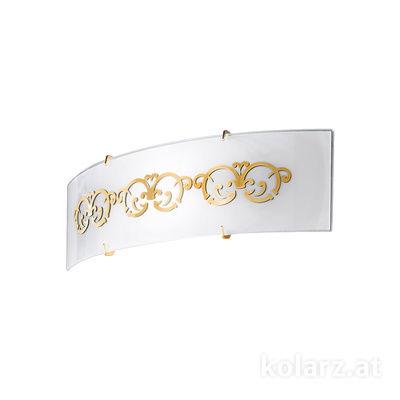 0340.61D.3.WAu 24 Carat Gold, Length 11cm, Width 40cm, 1 light, R7s 118mm