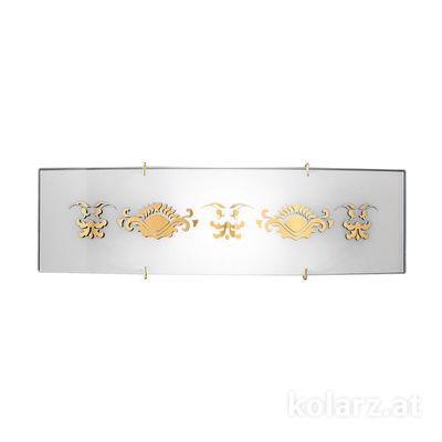 0341.61S.3.41.WAu 24 Carat Gold, Length 11cm, Width 40cm, 1 light, R7s 78mm