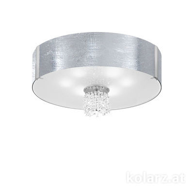 0345.16.5.Ag.KpT Chrome, Ø60cm, Height 38cm, 6 lights, E27