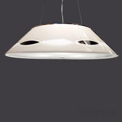 0347.33S.5.TWBk Chrome, Black/White, Ø50cm, Height 18cm, Min. height 25cm, Max. height 155cm, 3 lights, E14