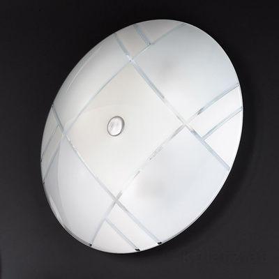 0349.U13.5.TWW Chrom, Ø42cm, Max. Höhe 7cm, 3-flammig, E27