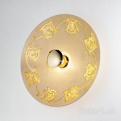 0364.61XL.V1.3 24 Carat Gold, Ø62cm, 1 light, E27