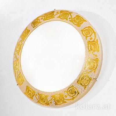 0364.U13.3 24 Carat Gold, Ø40cm, Max. height 9cm, 3 lights, E27