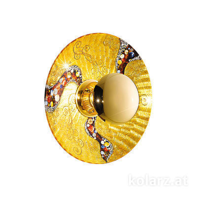 0365.61M.V1.3 24 Carat Gold, Ø42cm, 1 light, E27