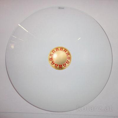 0389.U14.R 24 Carat Gold, Red, Ø54cm, Max. height 10cm, 4 lights, E27