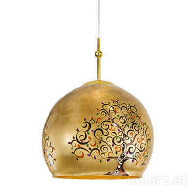 0392.31L.3.Al.Mu 24 Carat Gold, Ø40cm, Height 200cm, 1 light, E27