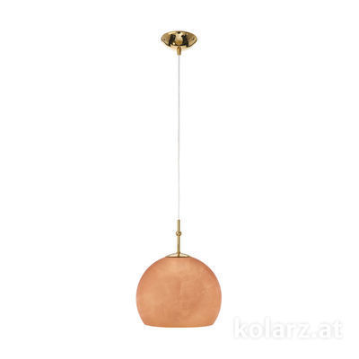 0392.31S.3.Cu 24 Carat Gold, Ø20cm, Height 200cm, 1 light, E27