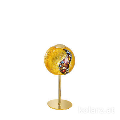 0392.71.3.Ki.Au 24 Carat Gold, Ø20cm, Height 38cm, 1 light, E14