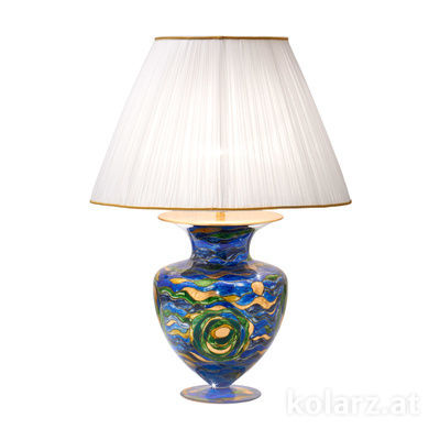 0415.71L.BG 24 Carat Gold, Ø60cm, Height 90cm, 1 light, E27