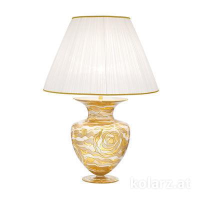 0415.71L.Ch 24 Carat Gold, Ø60cm, Height 90cm, 1 light, E27