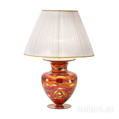 0415.71L.RV 24 Carat Gold, Ø60cm, Height 90cm, 1 light, E27