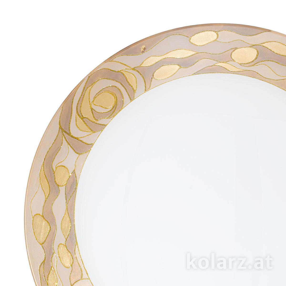 deckenleuchte serena aqua champagne 40 24 karat gold. Black Bedroom Furniture Sets. Home Design Ideas