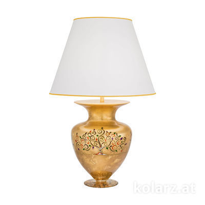 0417.71L.Mu 24 Carat Gold, Ø60cm, Height 90cm, 1 light, E27
