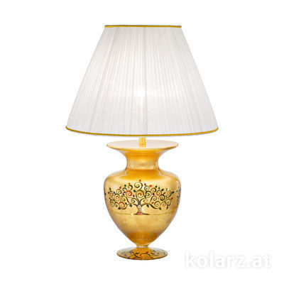 0417.71M.Mu 24 Carat Gold, Ø45cm, Height 65cm, 1 light, E27