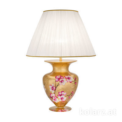 0419.71L.Au 24 Carat Gold, Ø60cm, Height 90cm, 1 light, E27