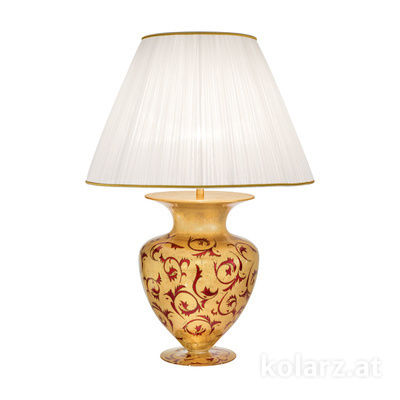 0420.71L.R 24 Carat Gold, Ø60cm, Height 90cm, 1 light, E27